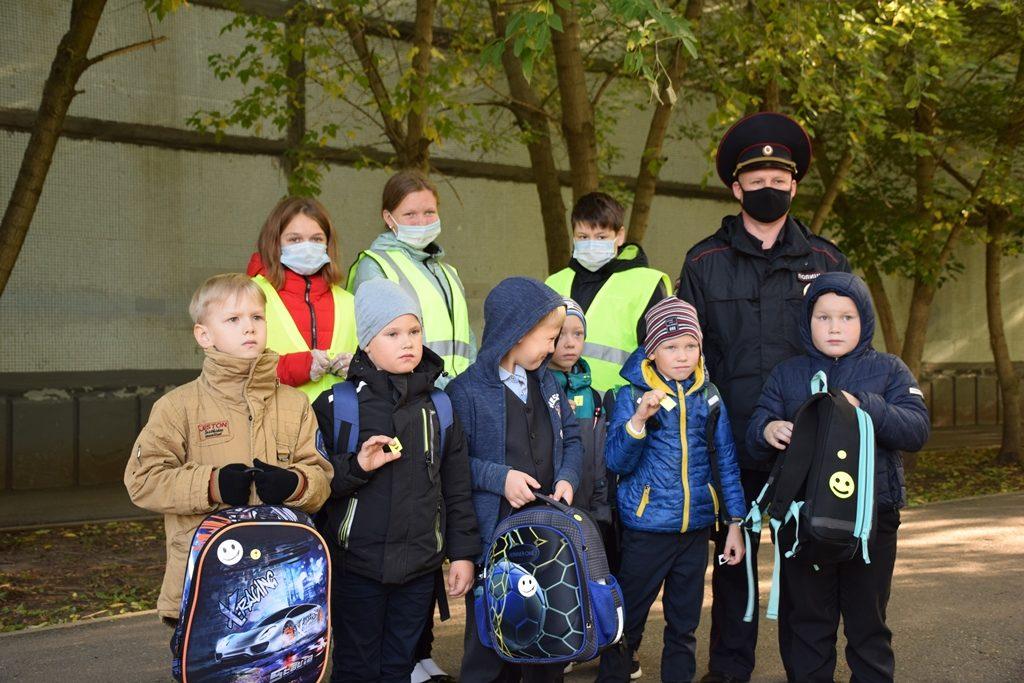 Единый день безопасности дорожного движения в Школе № 41