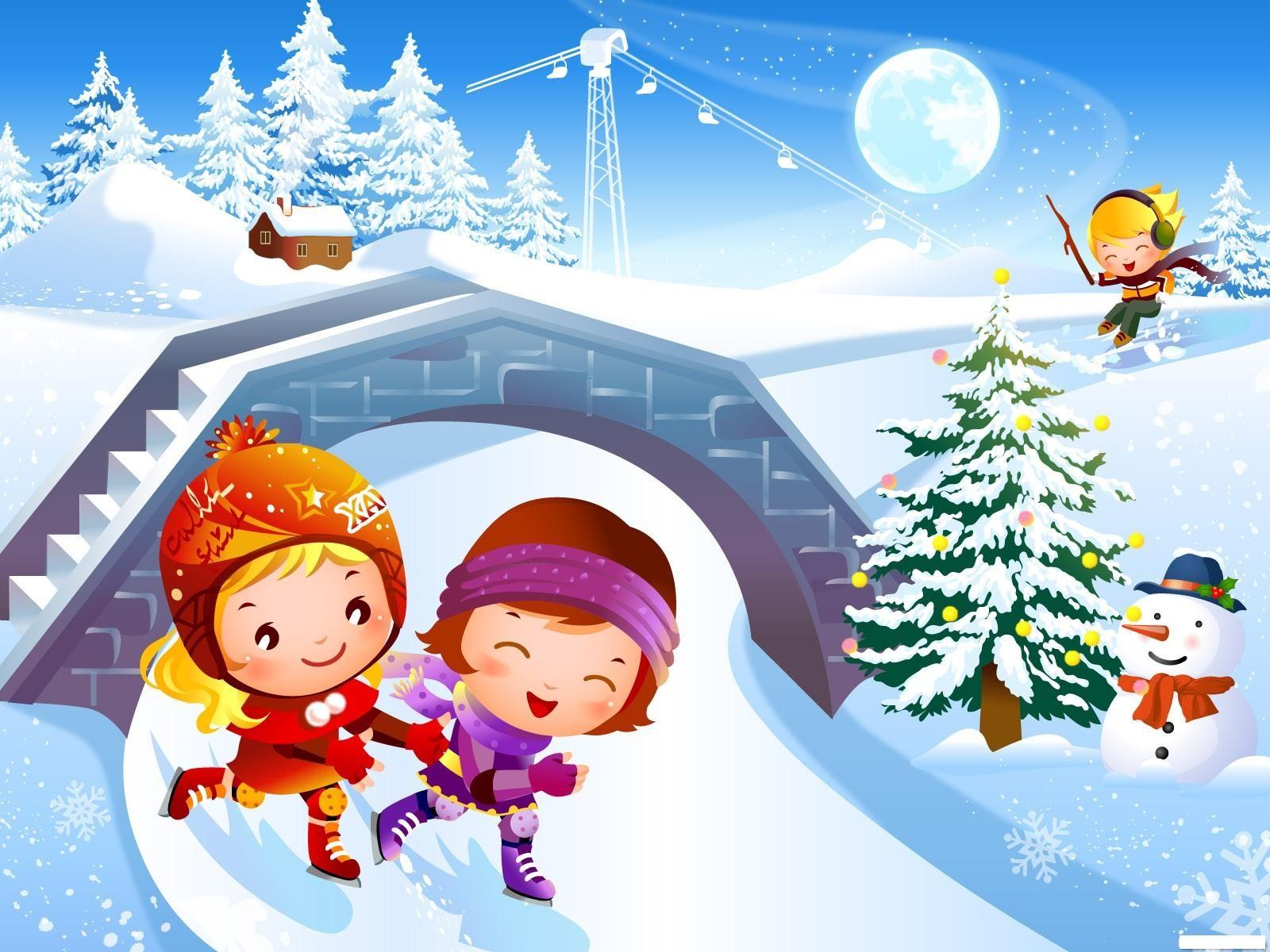 Посещение школы в морозы